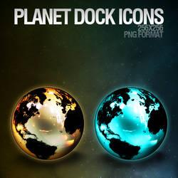 Planet Dock Icons