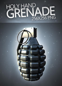 Grenade Dock Icon by dEGOnstruction
