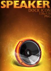 Speaker Dock Icon by dEGOnstruction
