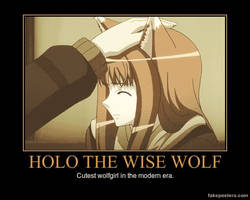 Spice and Wolf Motivational Poster
