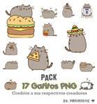 Pack 17 Gatitos PNG