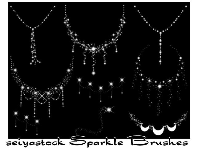 seiyastock sparkle brushes by seiyastock