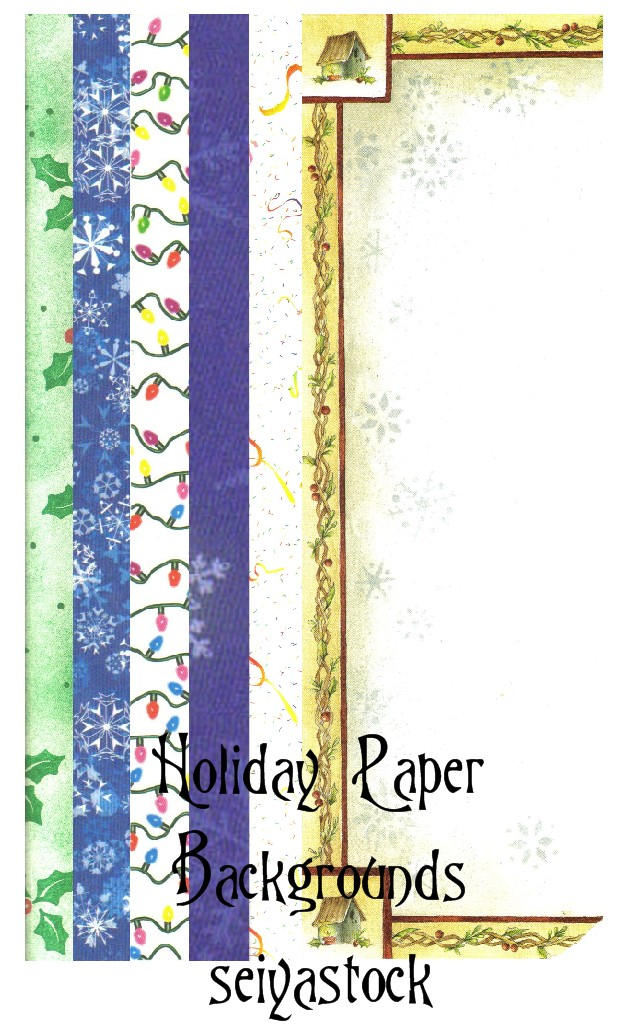 Holiday Paper Backgrounds by seiyastock