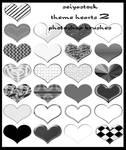 Theme Heart Photoshop Brushes2