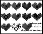 Theme Heart Photoshop Brushes