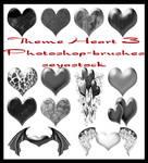 Theme Hearts 3 Photoshop brush