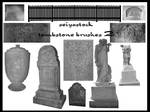 Tombstone Photoshop brushes 2