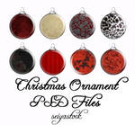 Christmas Ornament psd 1