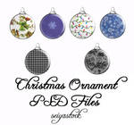 Christmas Ornament psd 2