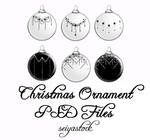 Christmas Ornament psd 3