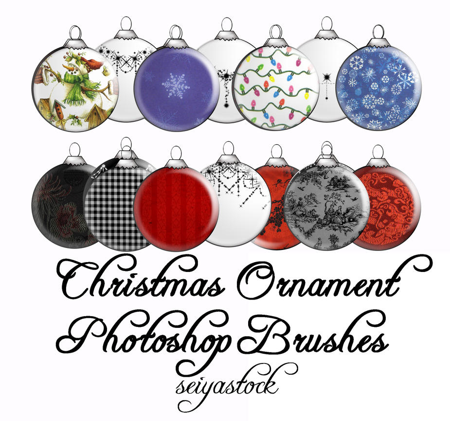 Christmas Ornament PS Brushes By Seiyastock On DeviantArt