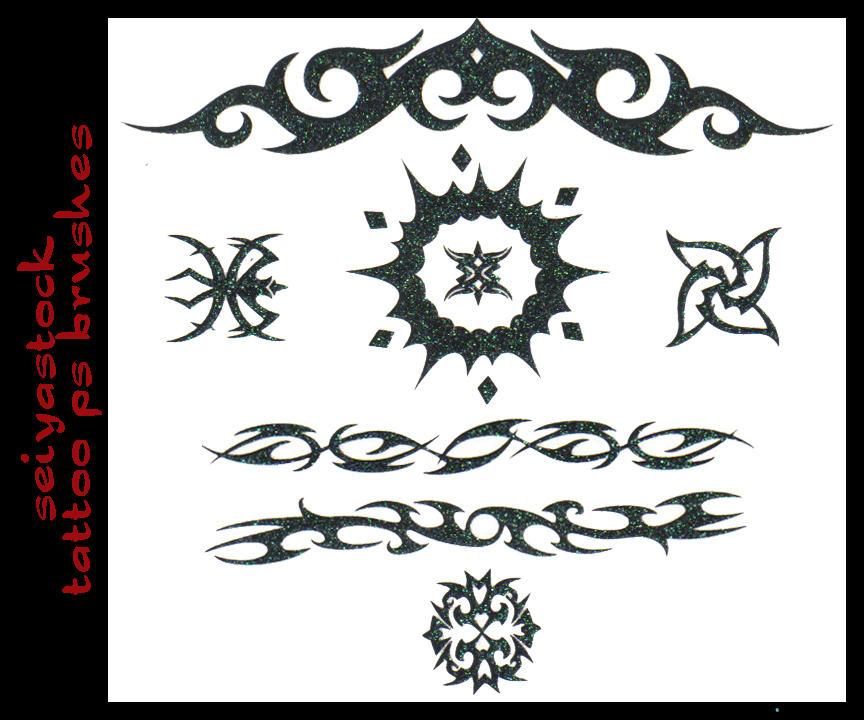 seiyastock tattoo ps brushes by seiyastock