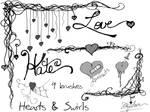 Hearts and Swirls 2