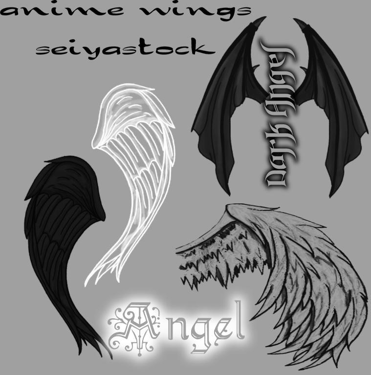 AnimeWingBrushes-seiyastock by seiyastock