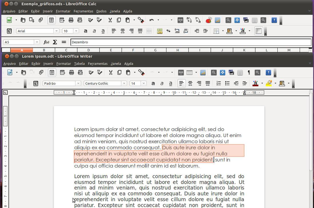 Faenza 4 LibreOffice 3.4 by kadu20es