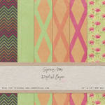 FREE Digital Paper Pack Spring Mix