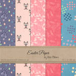 FREE Easter Paper by Rene Blooms