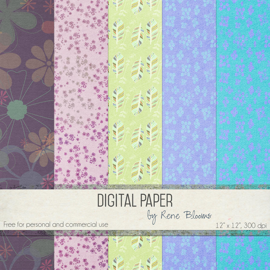 Springy Paper by Rene Blooms by SunnyFunLane