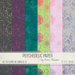 Psychedelic Paper by Rene Blooms