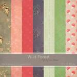 Wild Forest Digital Paper