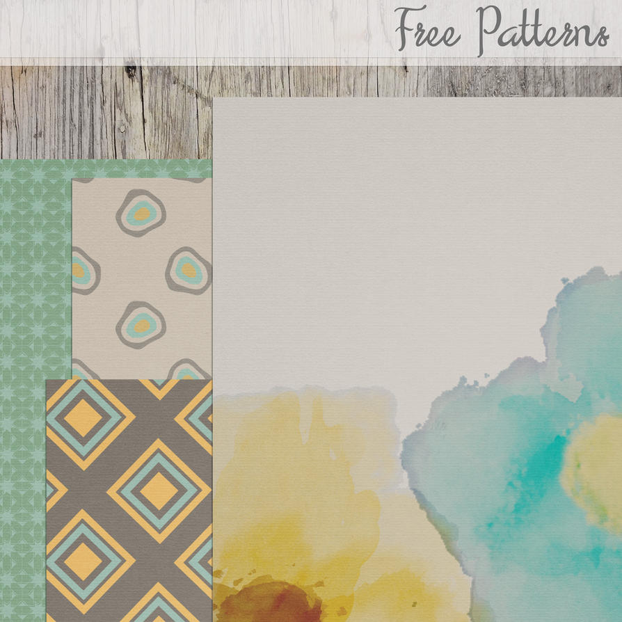 Patterns by Rene Blooms by SunnyFunLane