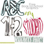 Back to School Graphics and Clip Art