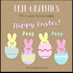 Vector and PNG Easter Graphics Free!