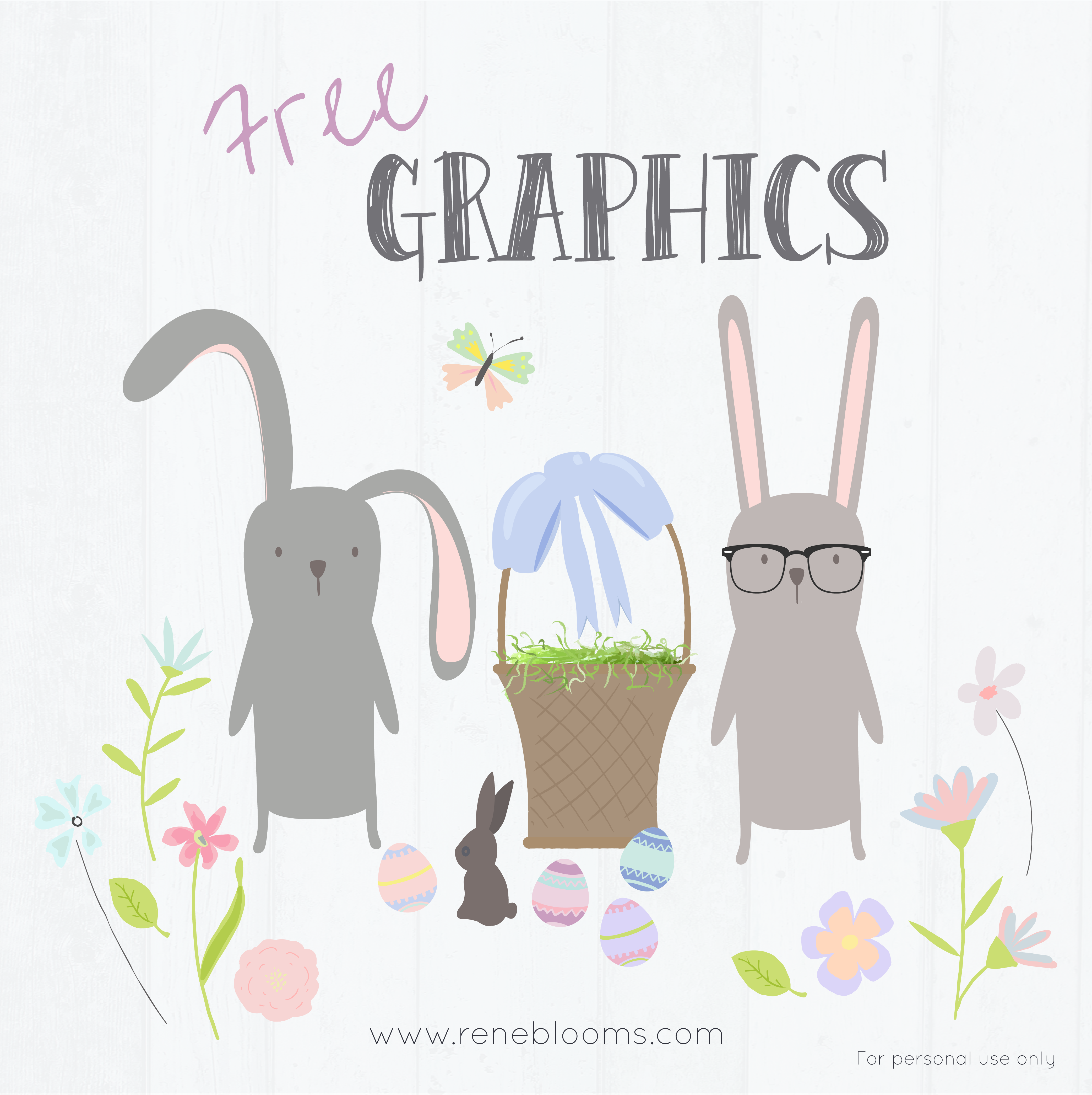 Easter Vector Graphics FREE