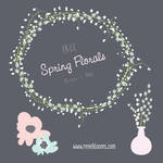 Floral Vector Resources FREE!