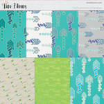 Arrow Patterns and Digital Paper