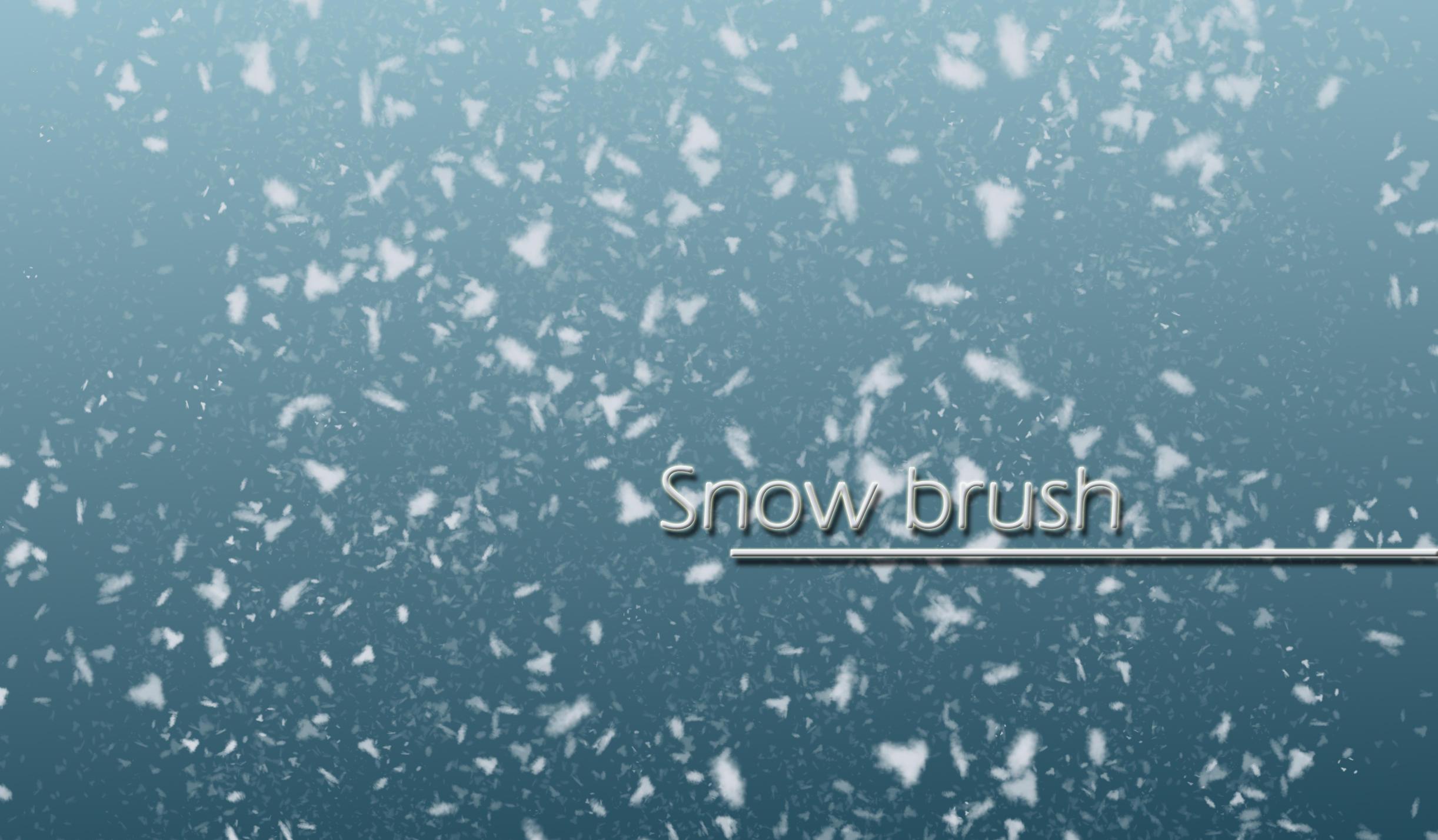 Snow brush by carocha