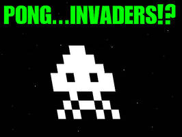pong...invaders? by ZEGMAN