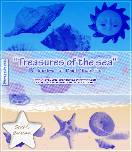 Treasures of the sea by Stellas-Creations