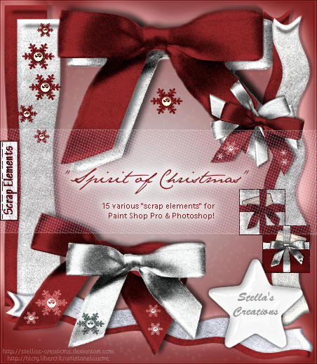Spirit of Christmas - © Blog Stella's Creations: http://sc-artistanelcuore.blogspot.com