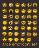 Arce Emoticons Set by Arce
