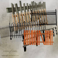Fences (Ornament) PNG PACK ! #7 by SudeBagci