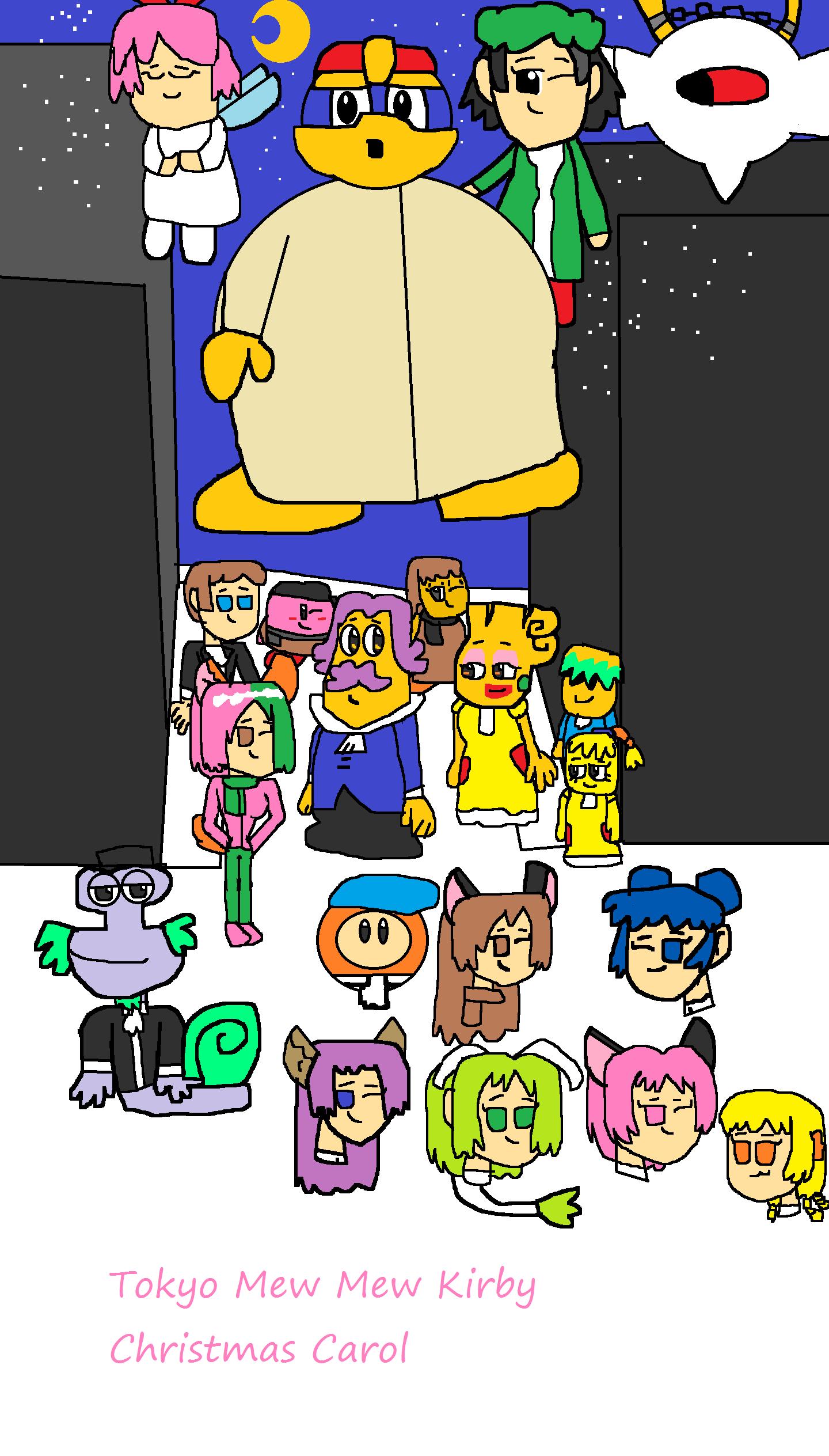 Tokyo Mew Mew Kirby Christmas Carol by kasden95 on DeviantArt