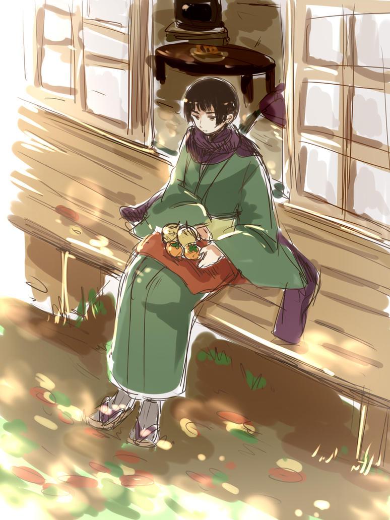 Japan x Kuudere! Reader by harukajitulips on DeviantArt