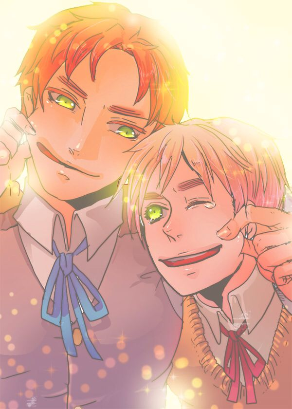 English Brothers x Secretly Magical! Reader by