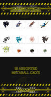 Metaball c4d pack 1 by Exodus