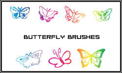 Butterfly Brushes by butnotquite