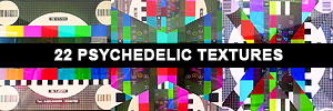 Psychedelic icon textures by rockmeeeeeee