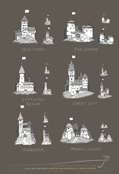 JS City Icons for maps [Sept.2014]