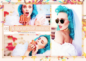 A Rooftop Bride (Photopack) by itsdamnedbarbie