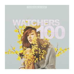 +100 Watchers by itsdamnedbarbie