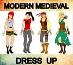 Modern-Medieval Dress up