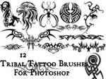 Set Of Brushes . VII