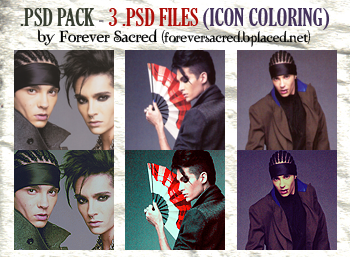 .PSD Pack 7 - Icon Coloring by Nexaa21