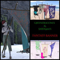 fantasy banner freebie by Greendragon and SmidA