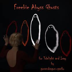 freebie Abyss ghosts by greendragon-gecko